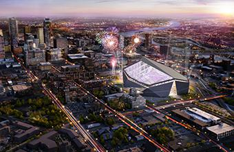 Vikings Stadium Design